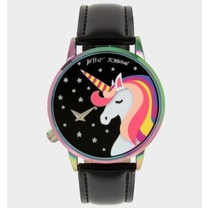 NIB BETSEY JOHNSON Magical UNICORN Universe Watch!